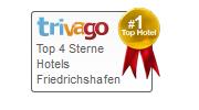 Traube am See Friedrichshafen Logo Auszeichnung trivago
